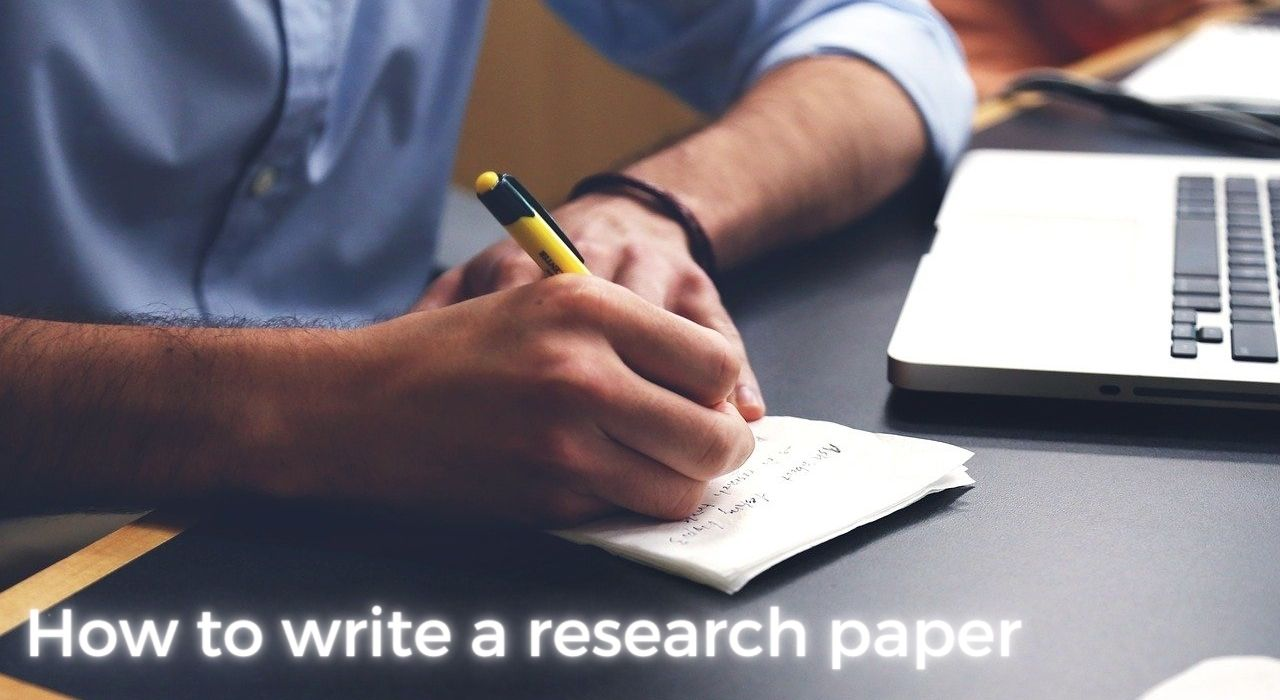 How to write a research paper Image