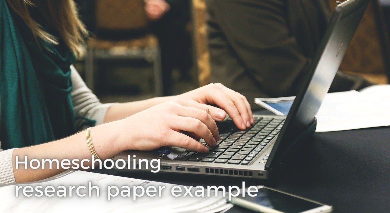 Homeschooling research paper image