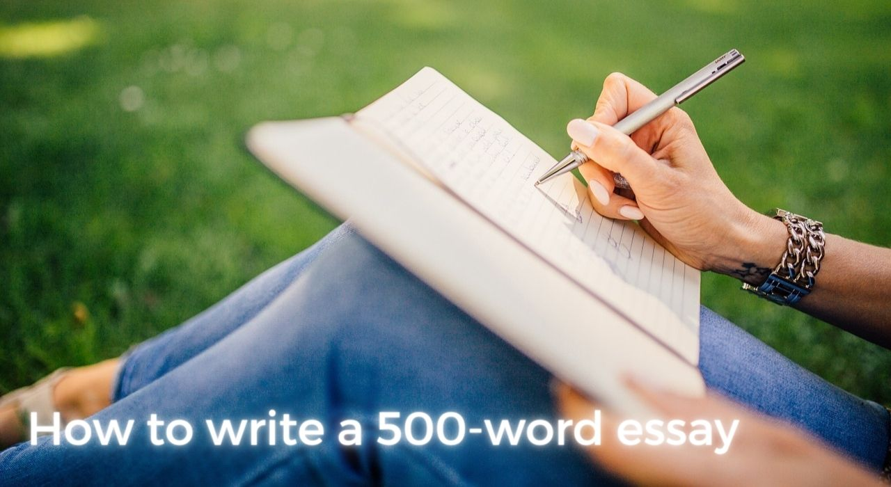 How to write a 500-word essay writing guide image