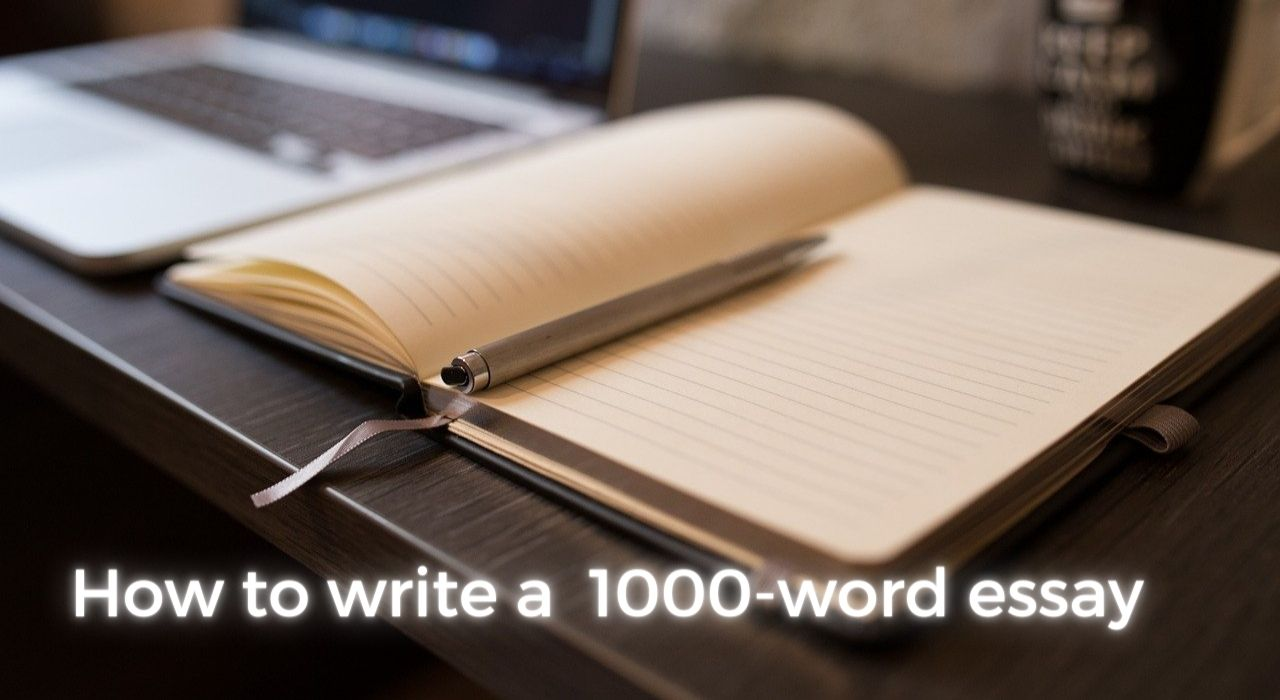 How to write a 1000-word essay image